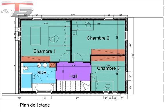 Maison basse énergie neuve en gros ouvre fermé avec 3 chambres, spacieuse terrasse et jardin idéalement orientés - Vue Panoramique !