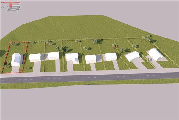 Terrain libre de constructeur plane de 1.258 m² situé à proximité du centre de La Reid et de l