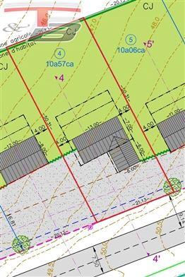 Terrain libre de constructeur plane de 1.057 m² situé à proximité du centre de La Reid et de l