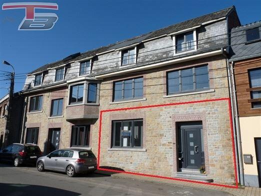 Rez-de-chaussée 2 chambres (poss 3) de 109m² entièrement remis à neuf avec terrasse de 15m² sis au calme