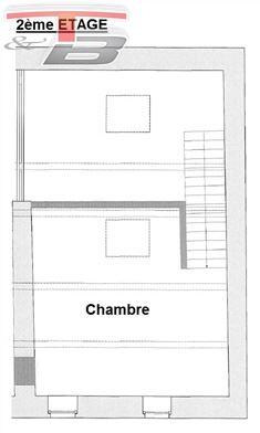 Maison de caractère 2 chambres de 103m² entièrement remise à neuf avec terrasse plein sud de 22m² idéalement située au calme, dans le centre
