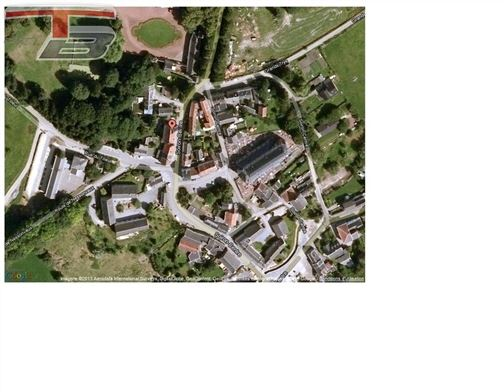 Appartement 2 chambres de 108 m² avec cour privative au 1er étage dans une belle maison de maître rénovée au centre de Soiron