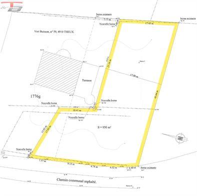 Parcelle plane libre de constructeur de 950m² idéalement située au calme dans un environnement privilégié