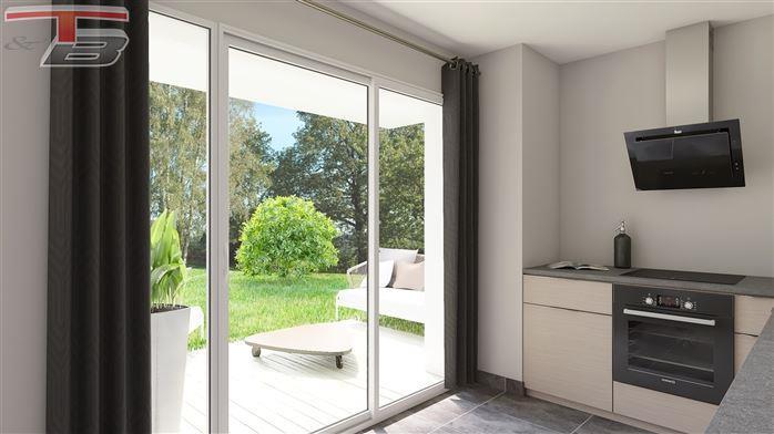 Rez-de-chaussée neuf 2 chambre de 85m² entièrement équipé avec terrasse et jardin privatif exposés sud