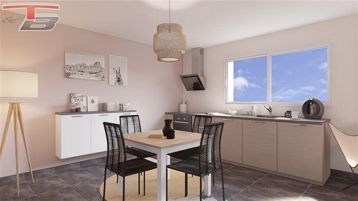 Appartement neuf 1 chambre de 54m² entièrement équipé avec terrasse exposée sud et magnifique vue dégagée