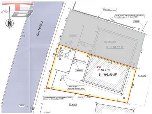 Maison basse énergie neuve 3 chambres de 107m² entièrement équipée avec petit jardin située 4 minutes d