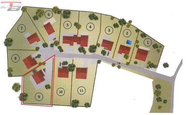 Terrain à bâtir libre de constructeur de 1.323m² situé au calme dans une voie sans issue !