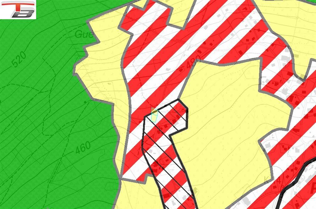 Terrain à bâtir libre de constructeur de 1.203m² idéalement situé dans un endroit calme à proximité du village de Petit-Thier.