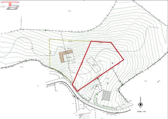 Terrain à bâtir libre de constructeur de 1.987 m² idéal pour la construction de 2 maisons semi-jointives !